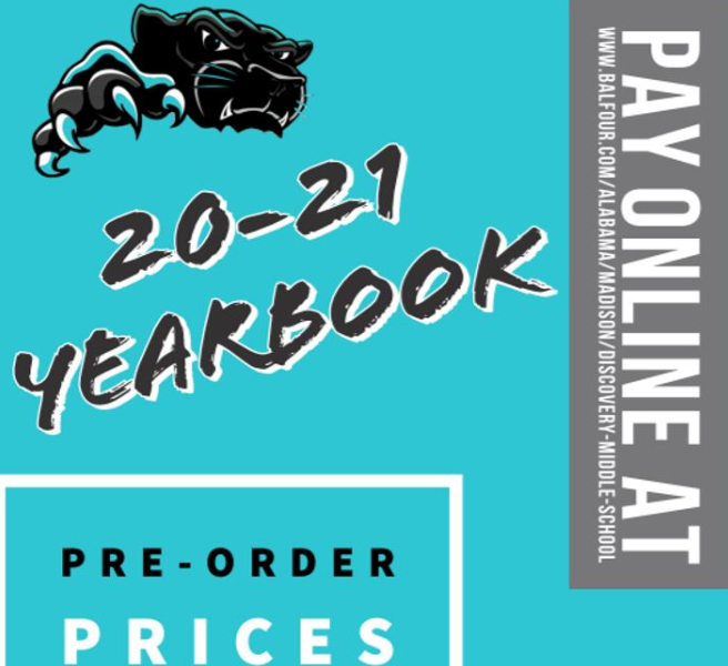 DMS Yearbook Pre-Sale