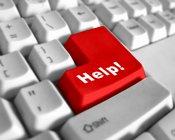 red help keyboard key