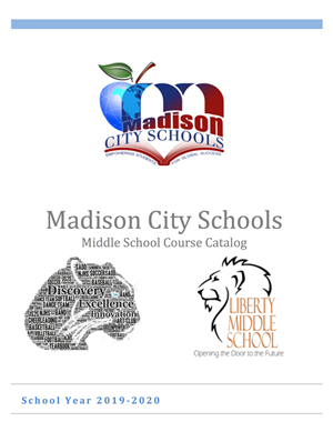 Click here for the middle school catalog.