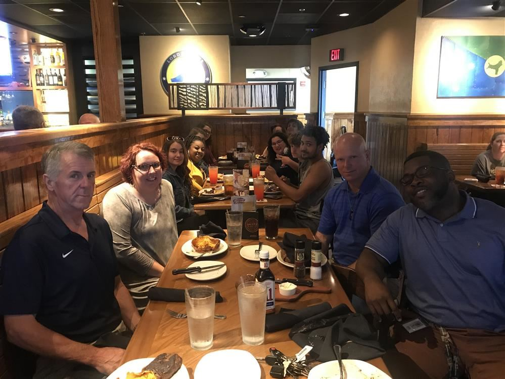 Academy Students and Teacher at Outback
