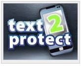 Text to Protect logo