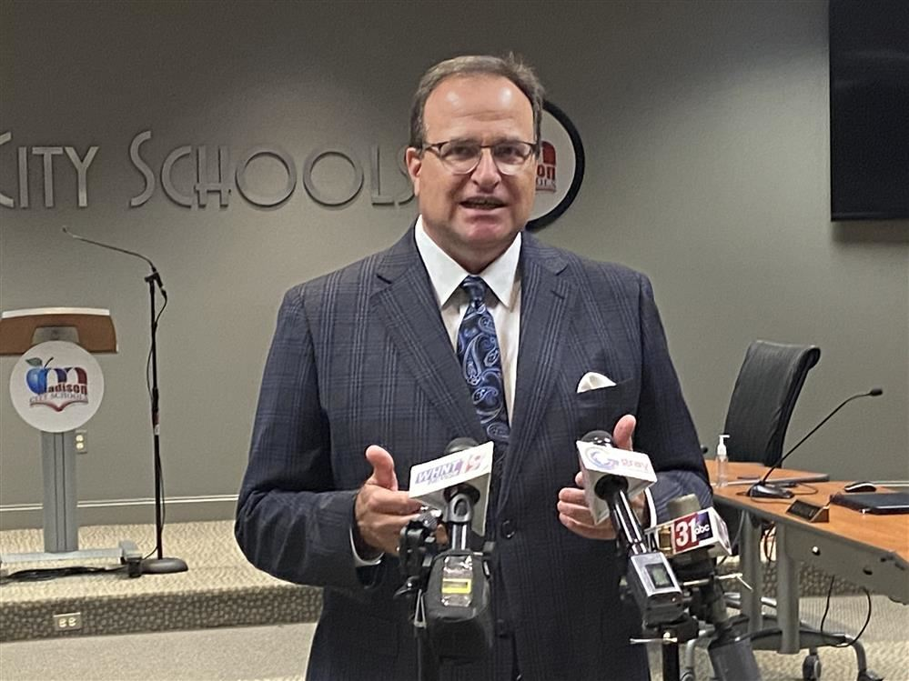 Dr. Ed Nichols Officially Becomes Madison City Schools Superintendent