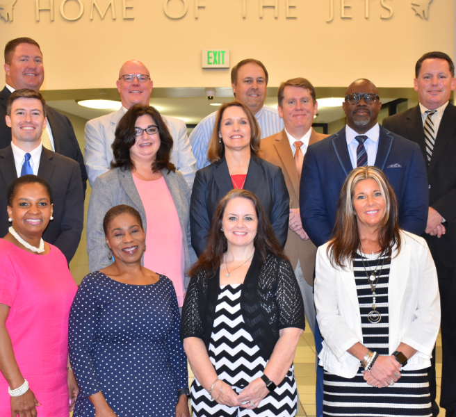 Group photo of all Madison City School principals