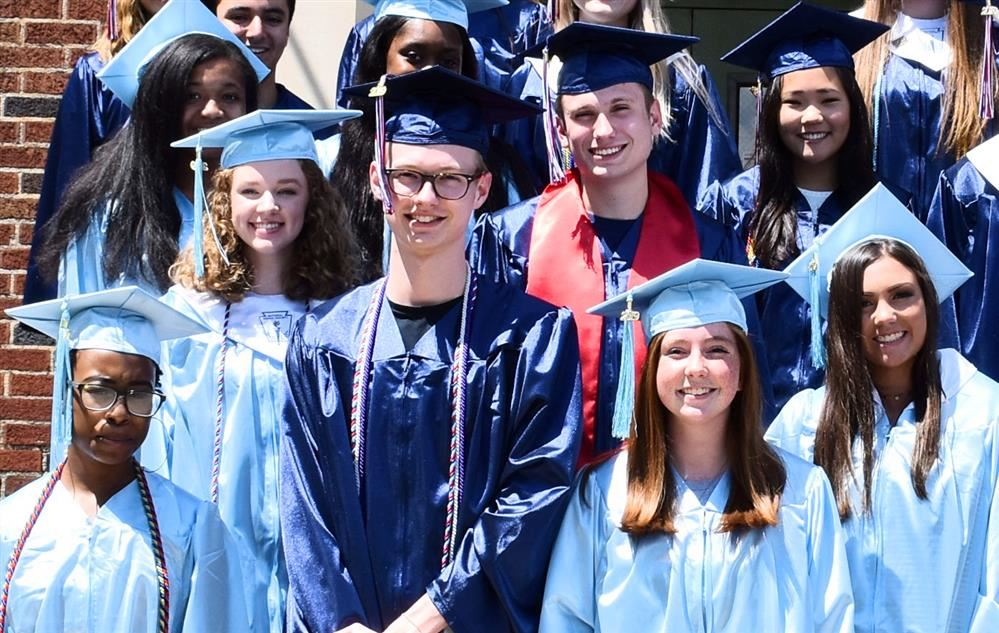 Composite photo of a handful of Bob Jones and James Clemens graduates
