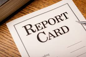 Image of a report card