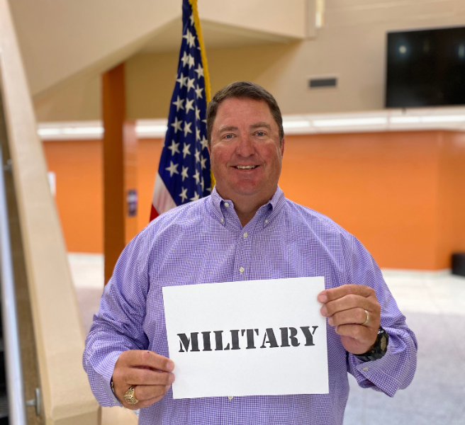 MCS Salutes Its Military Families
