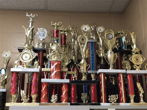 Picture of trophies
