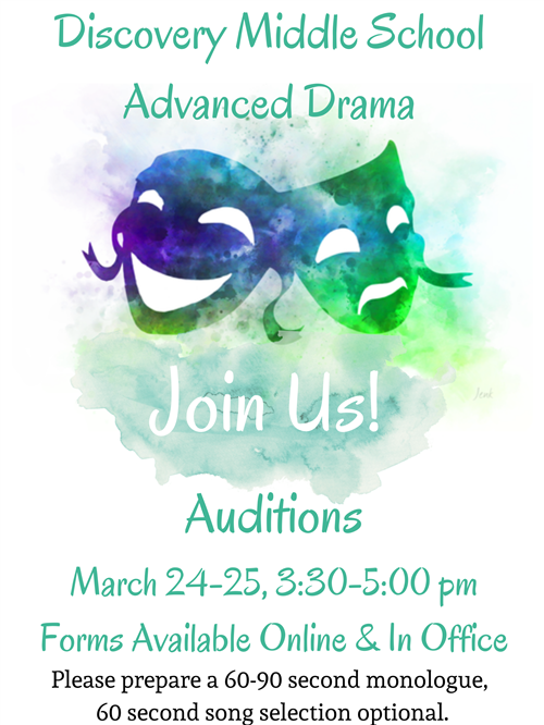 Advanced Drama Auditions