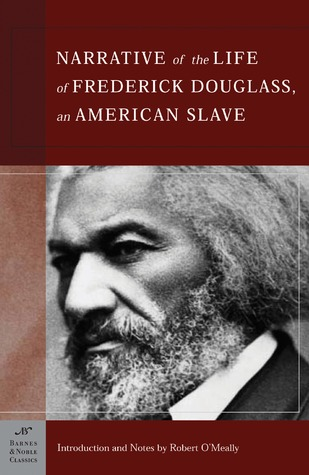 Narrative of Frederick Douglass book cover
