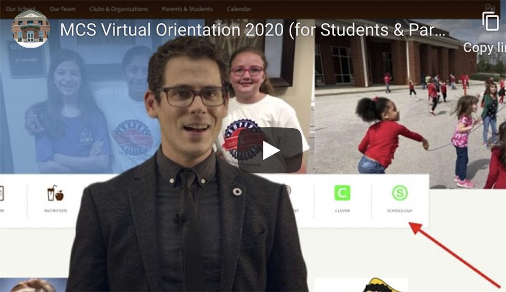 MCS Virtual Orientation
